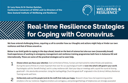 Realtime Resilience Strategies