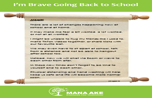 I'm Brave going Back to School (older children)