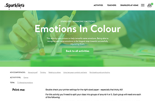 Emotions In Colour
