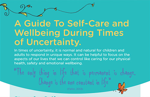 A Guide To Self-Care and Wellbeing During Times of Uncertainty