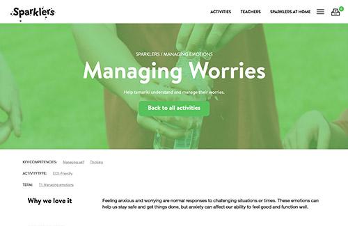 Managing Worries