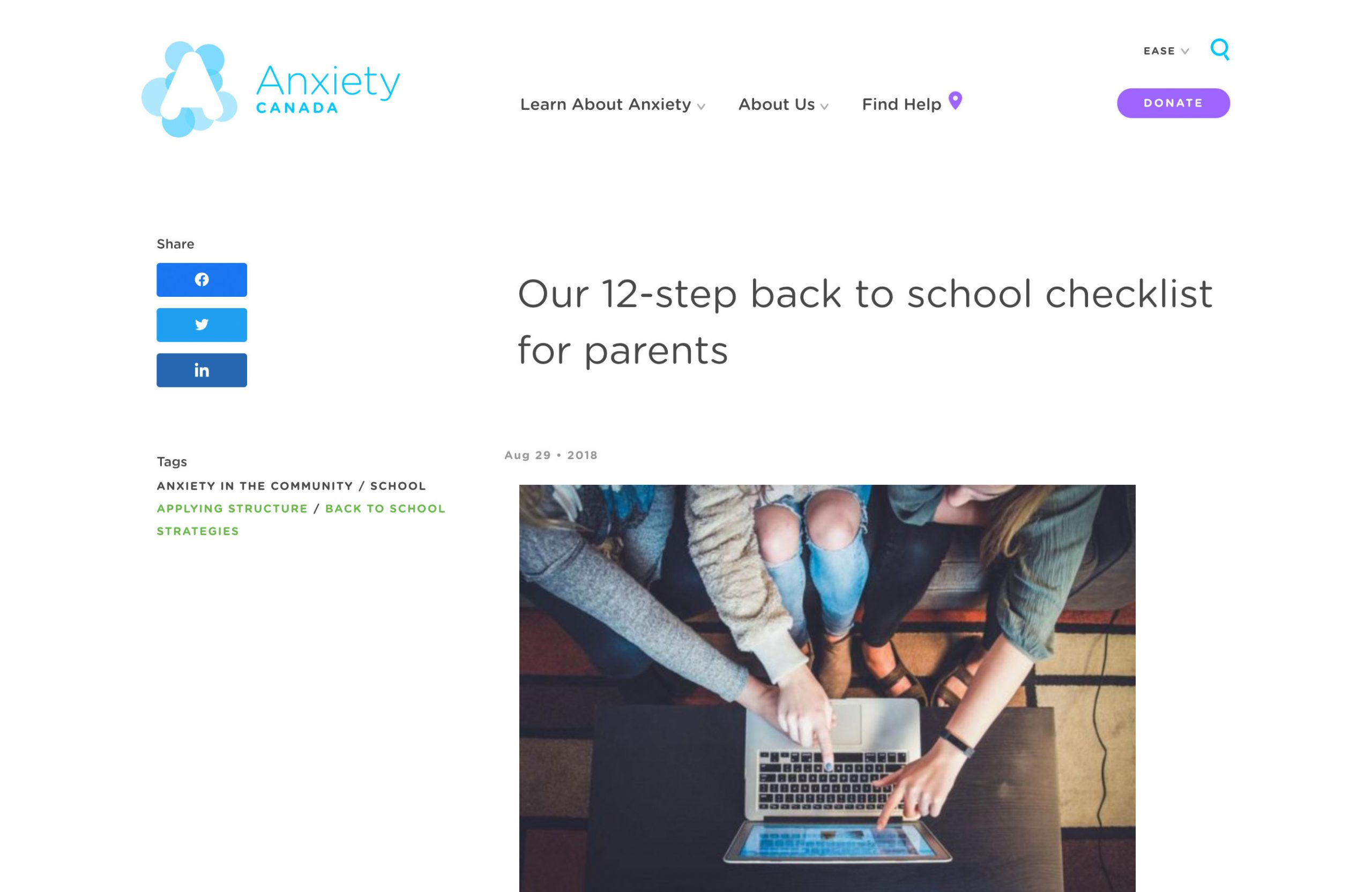 12-step back to school checklist for parents