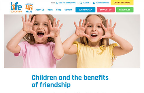 Children and the Benefits of Friendship