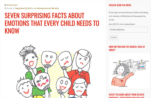 Seven Surprising Facts About Emotions That Every Child Needs to Know