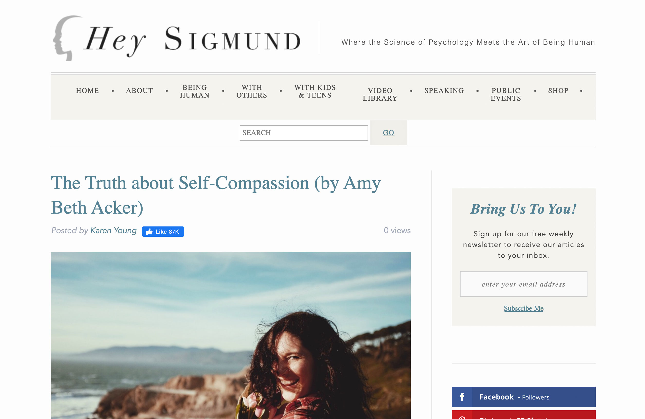 The Truth about Self-Compassion