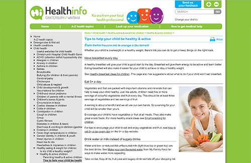 Tips to Help your Child be Healthy & Active