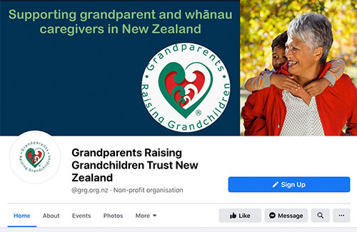 Grandparents Raising Grandchildren Facebook page