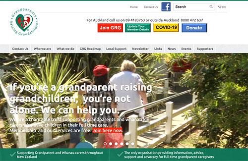 Grandparents Raising Grandchildren Website