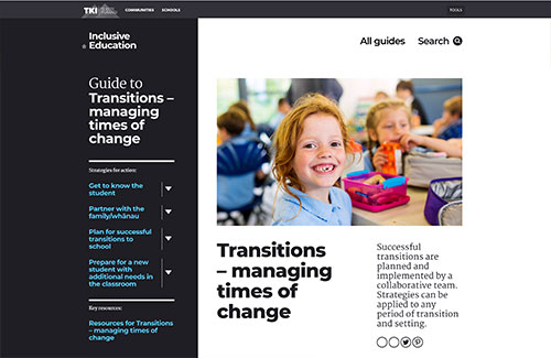 Transitions – managing times of change